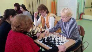 Шахматный турнир в Шумилино