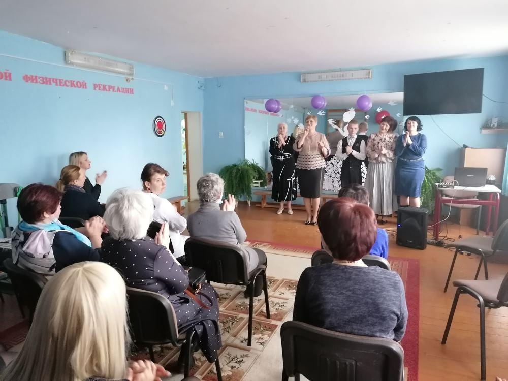 8 марта в Шумилинском ТЦСОН